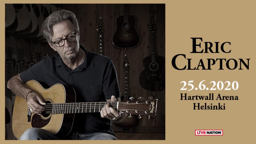 Eric Clapton Hartwall Arenalla 1