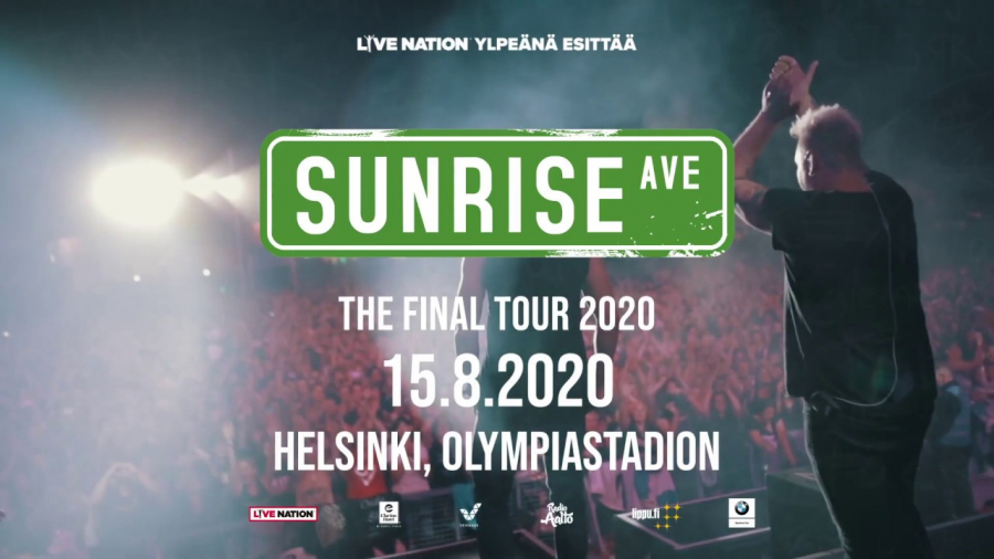 Sunrise Avenue: Thank You For Everything – The Final Tour 2020 Olympiastadion 1