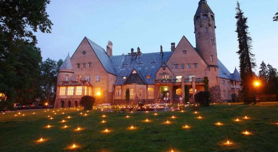 Joulu upeassa Wagenküllin linnassa Virossa 23.12. - 26.12. 5