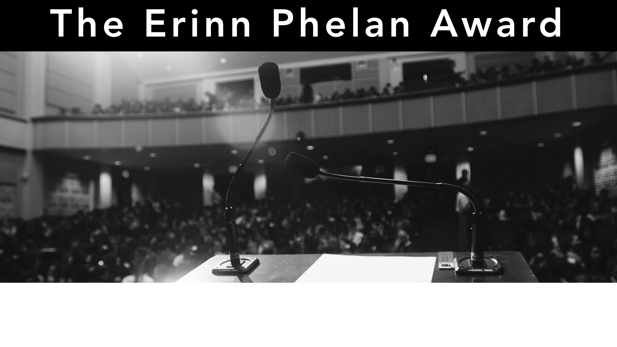 The Erinn Phelan Award