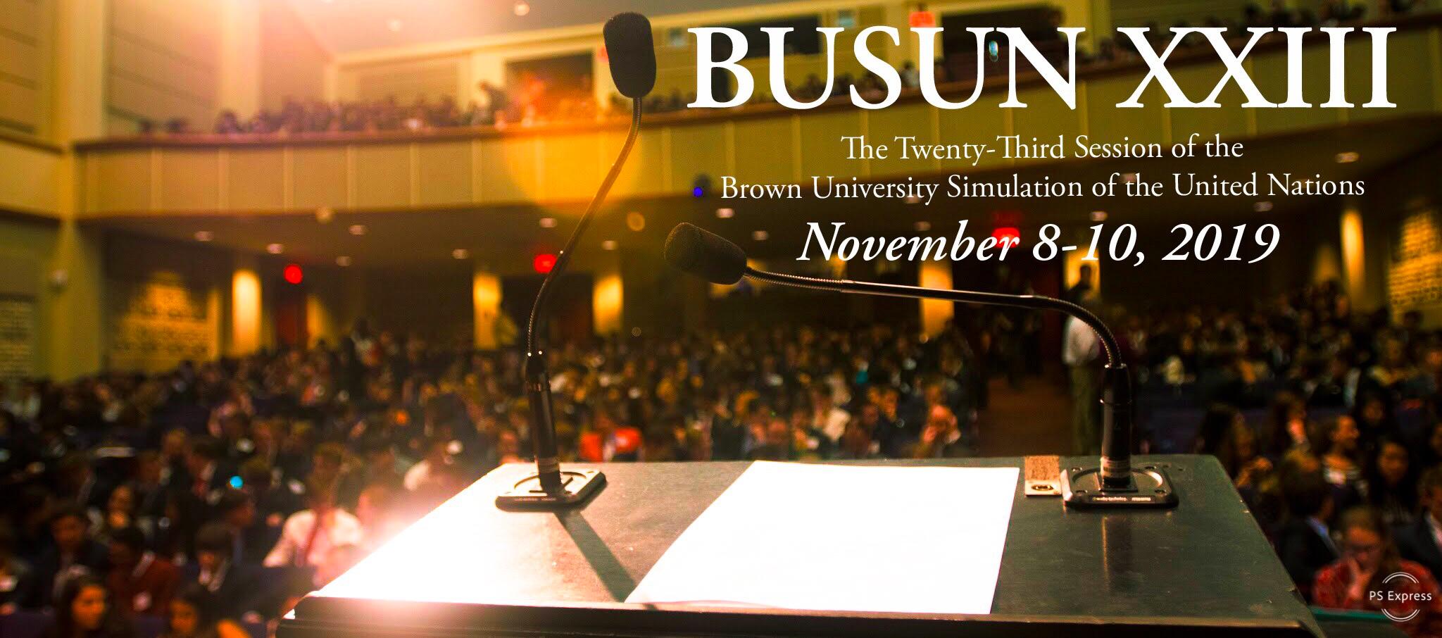 BUSUN XXIII - November 8-10, 2019