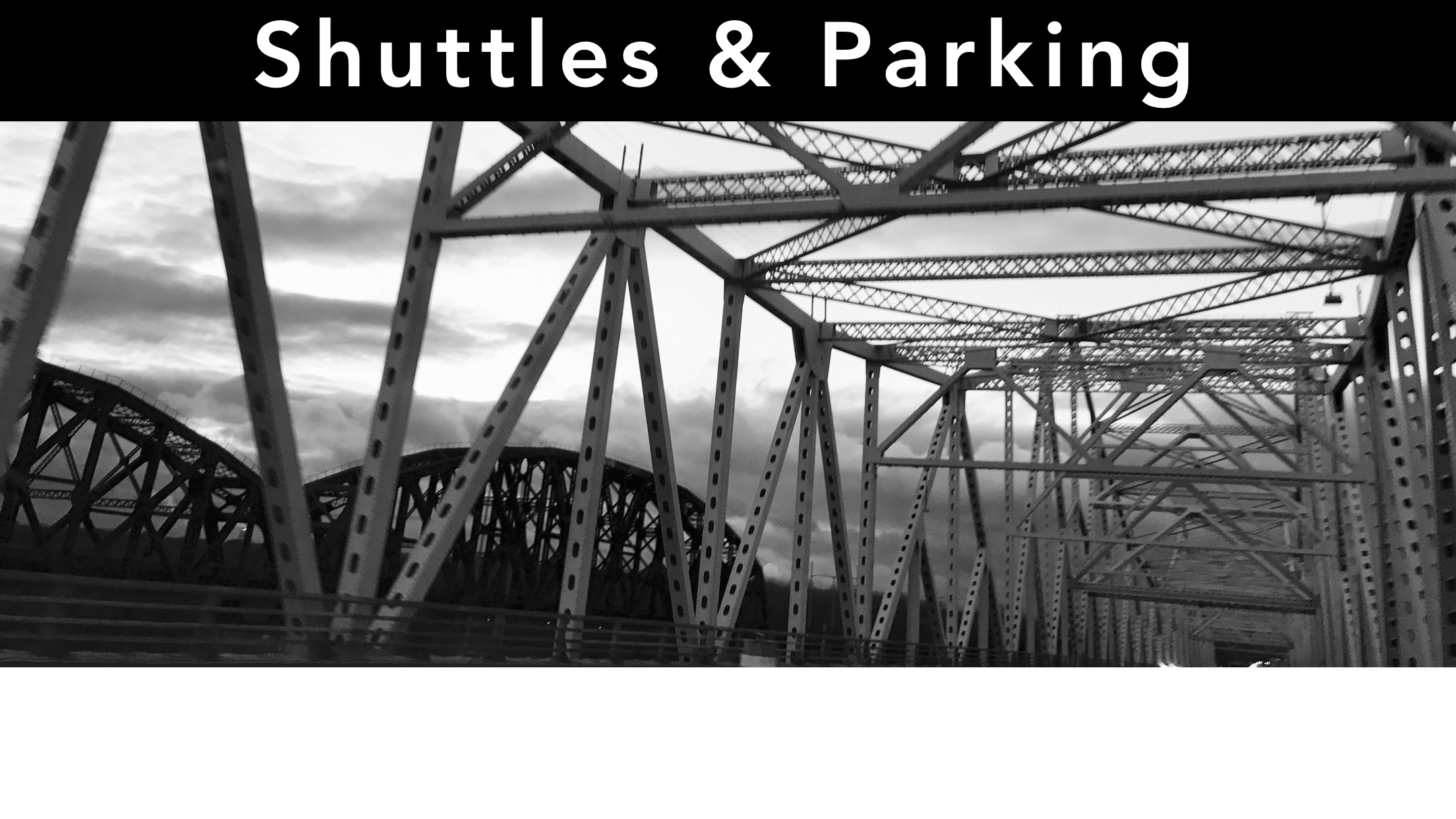 Shuttles and Parking