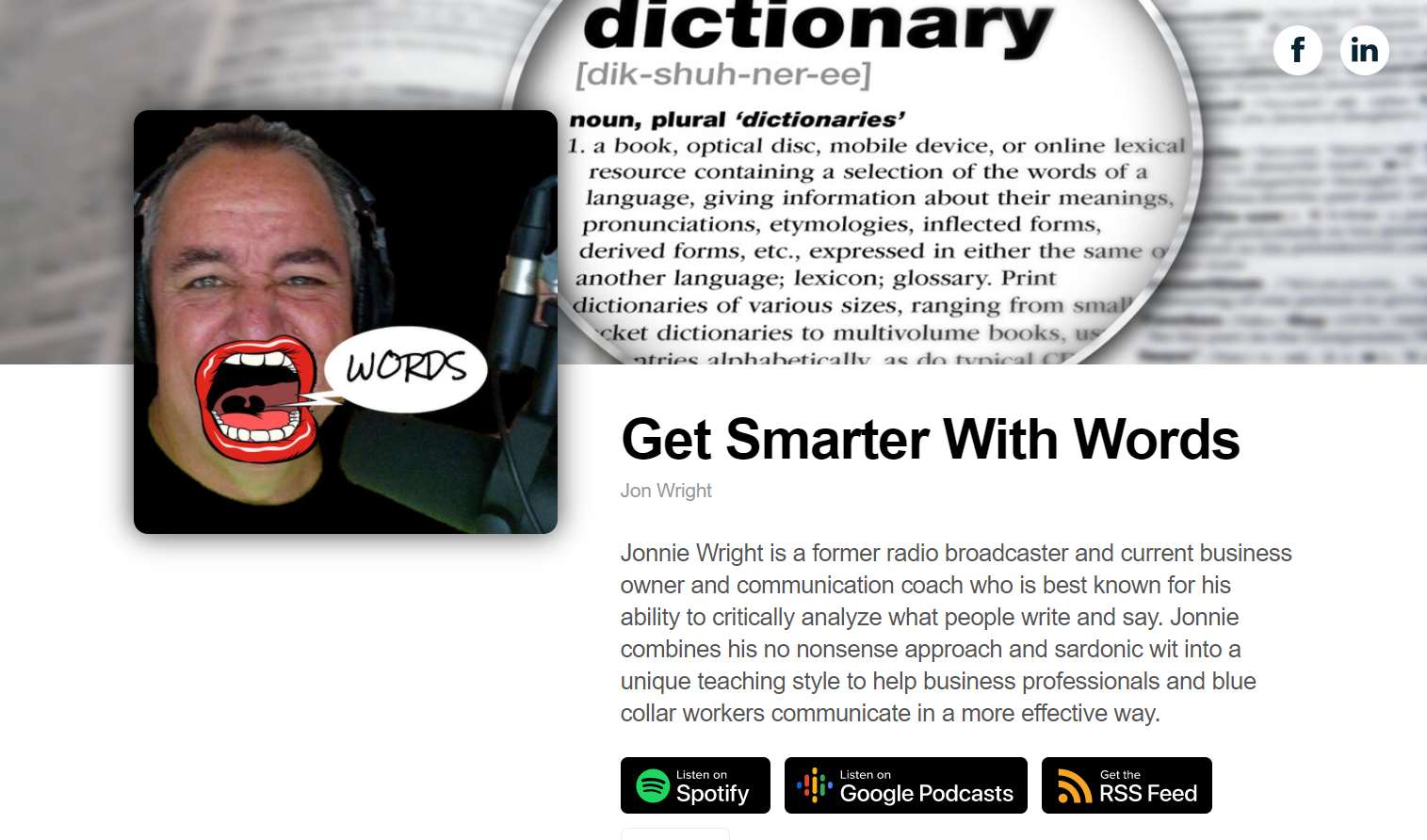 Get Smarter With Words Podcast