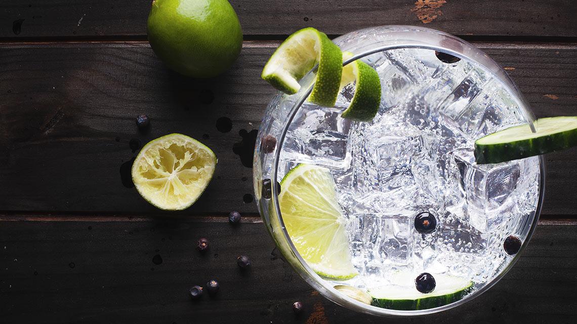 gin și pierderea în greutate tonică subțire
