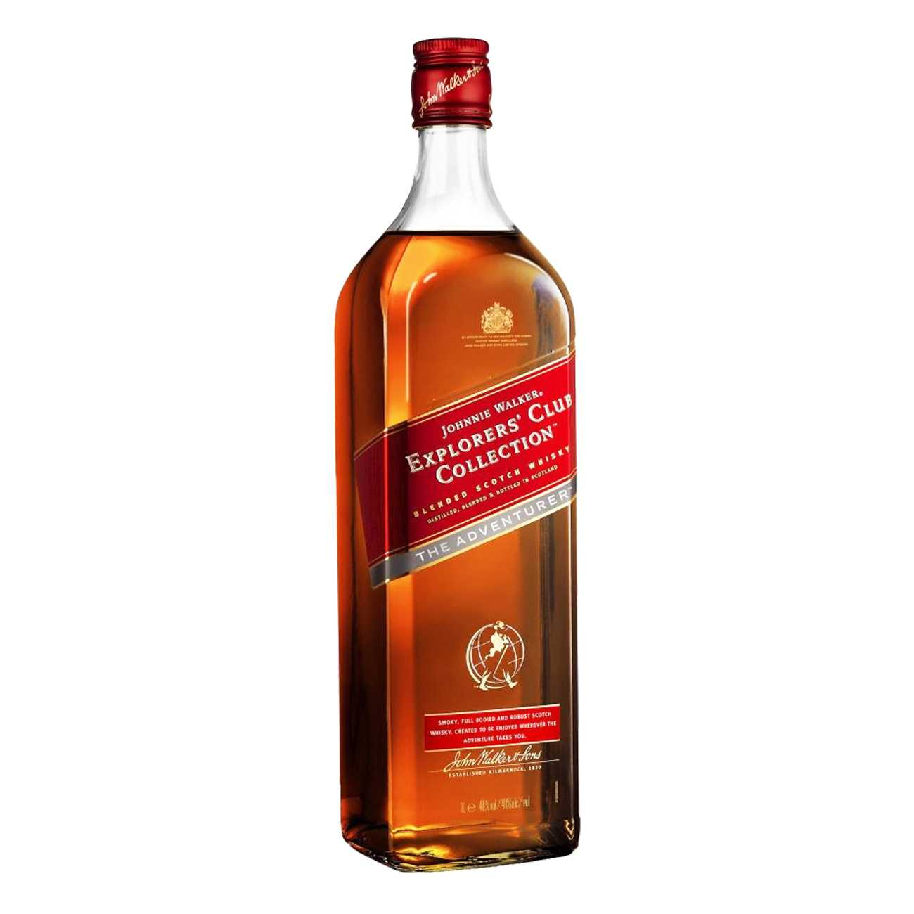 Whisky scotian, EXPLORERS CLUB THE ADVENTURER 1000 ML, Johnnie Walker