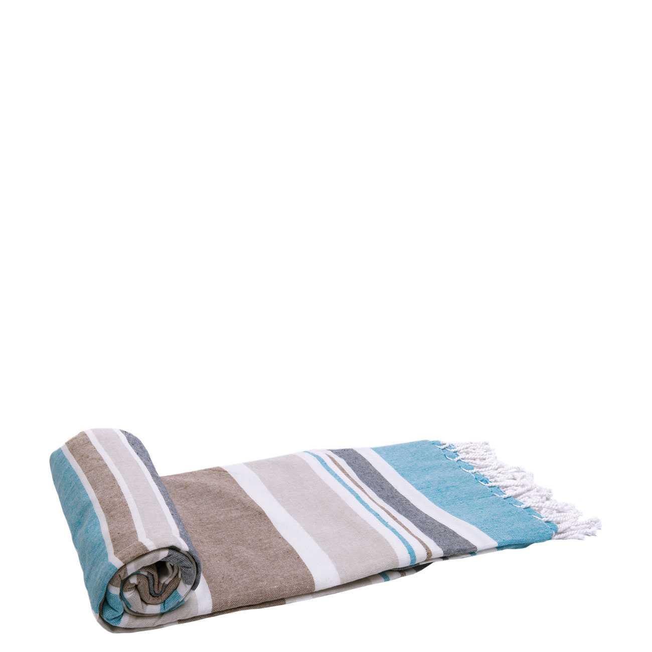 Beach Towel Havana Brown imagine