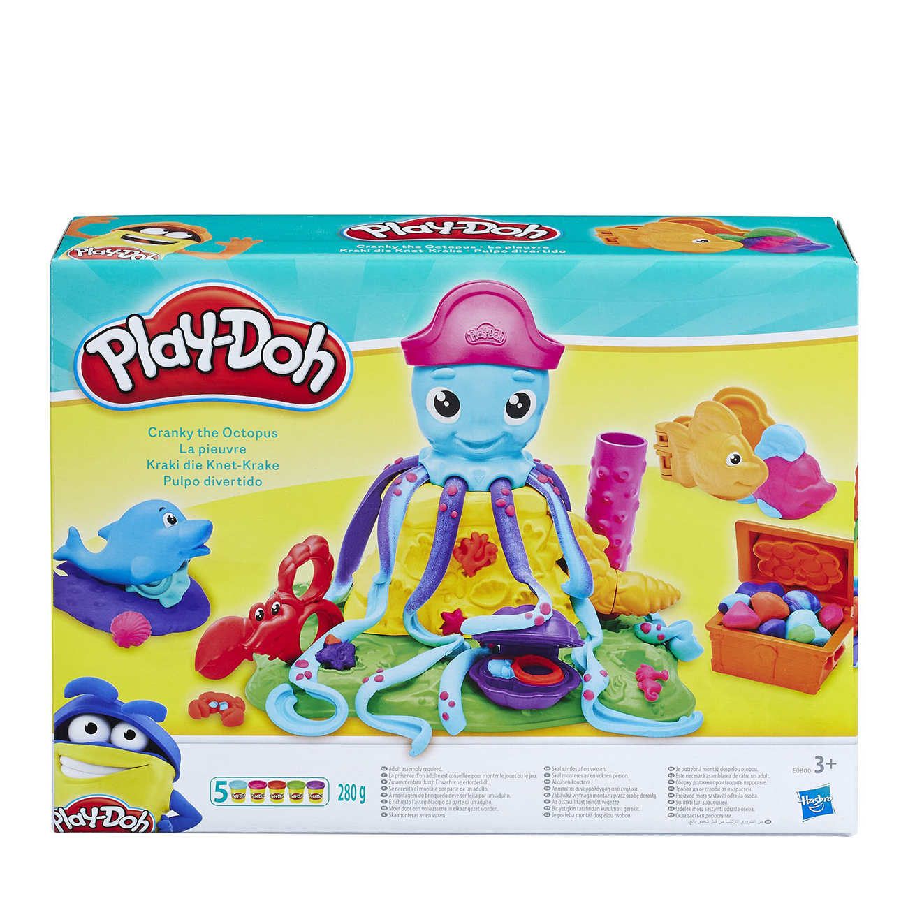 PLAY DOH CRANKY THE OCTOPUS
