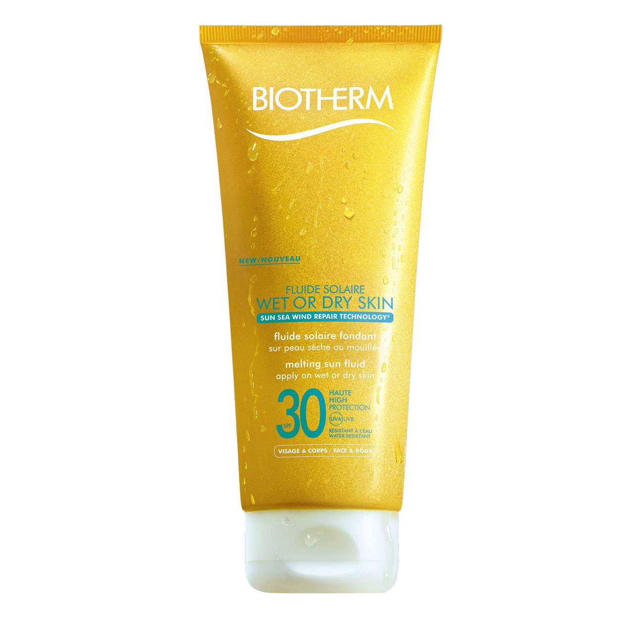 BODY FLUIDE SOLAIRE WET OR DRY SKIN 200ml poza
