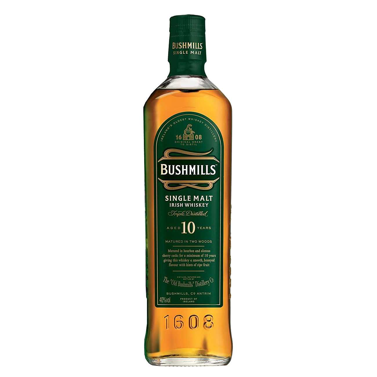 Whisky irlandez, 10 YEAR OLD 1000 ML, Bushmills