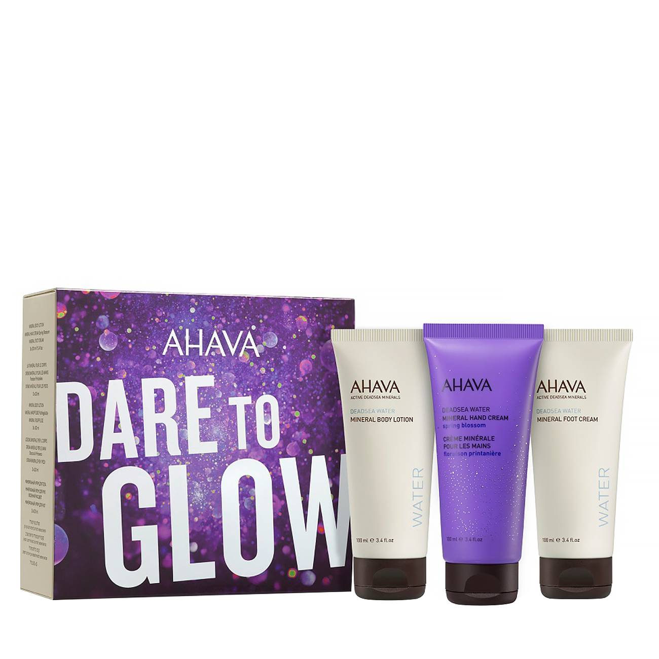 Dare To Glow Kit Set 300ml Ahava imagine 2021 bestvalue.eu
