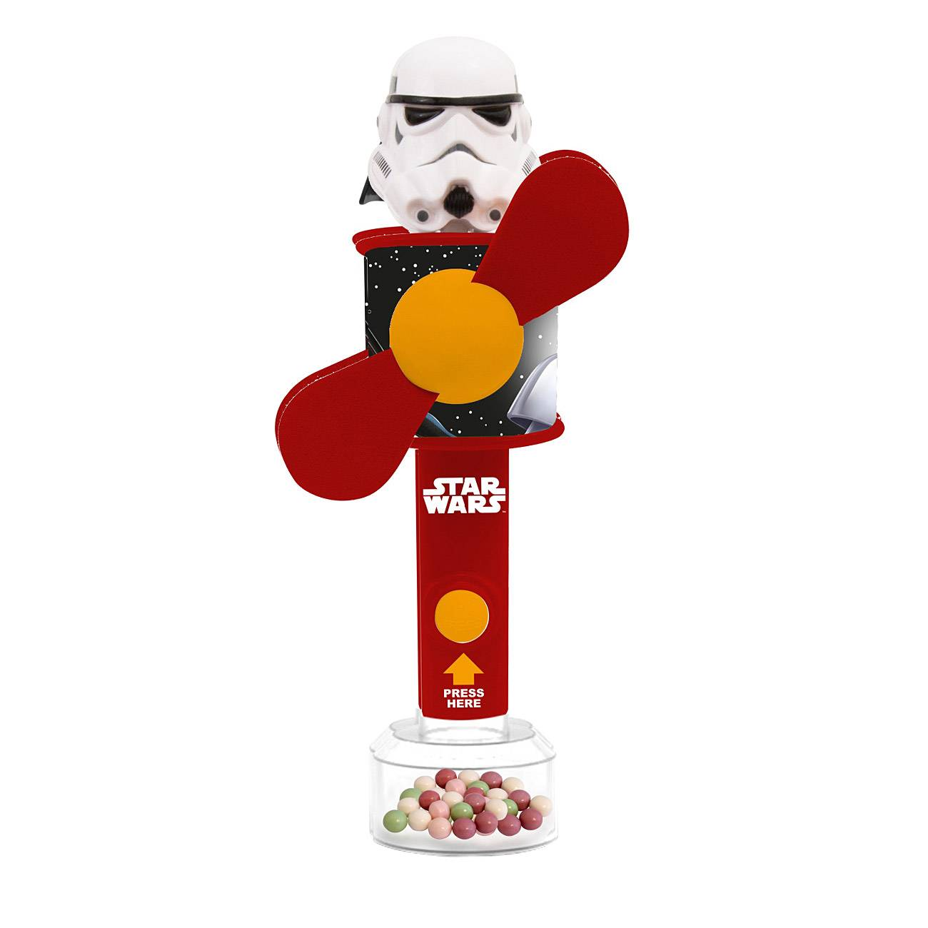 STAR WARS COOL FAN WITH CANDY 6 Grame
