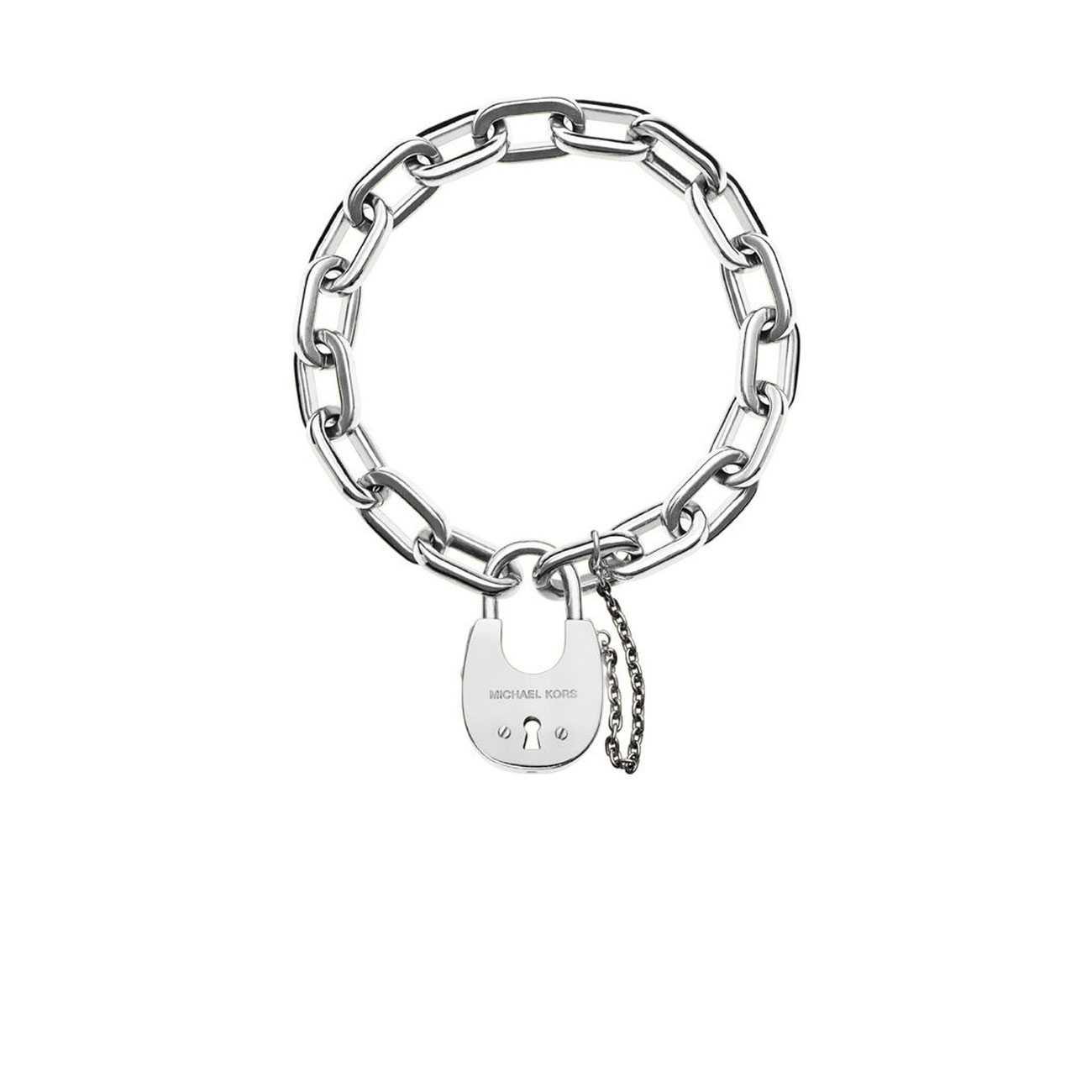 Tone Padlock Bracelet