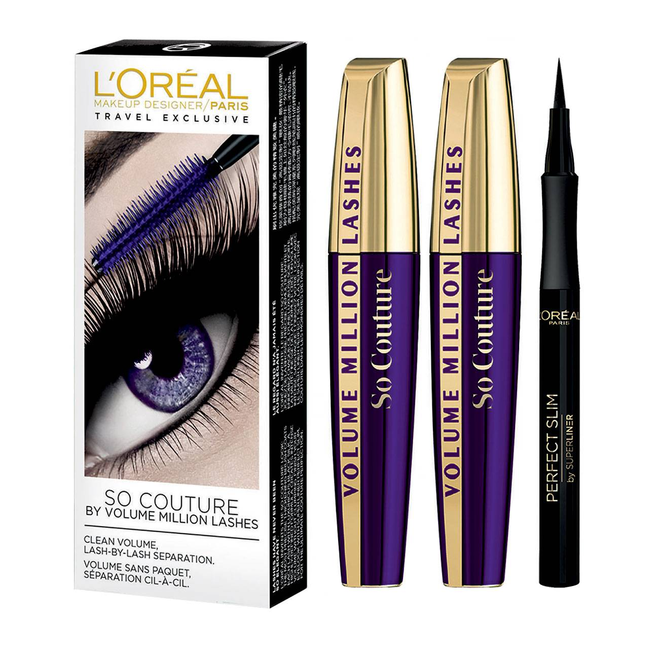 So Couture Volume Million Lashes Mascara Set