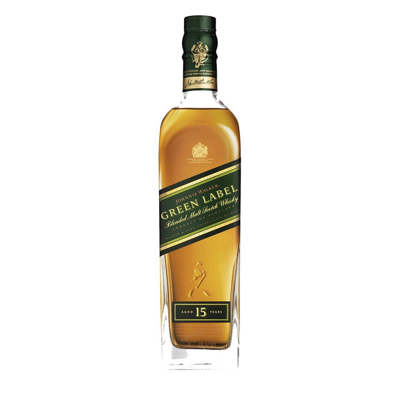 Green Label 15y 1000ml de la Johnnie Walker