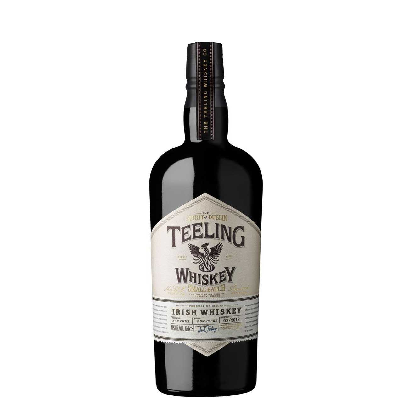 Whisky irlandez, SMALL BATCH IRISH WHISKY 700 ML, Teeling