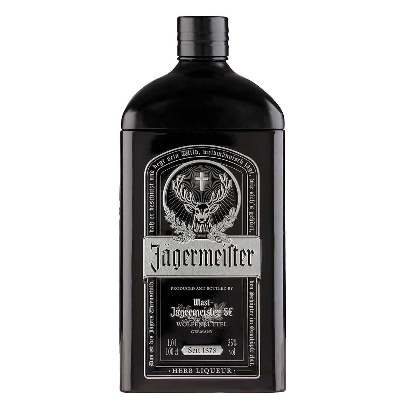 Black Tin 1000 Ml de la Jagermeister