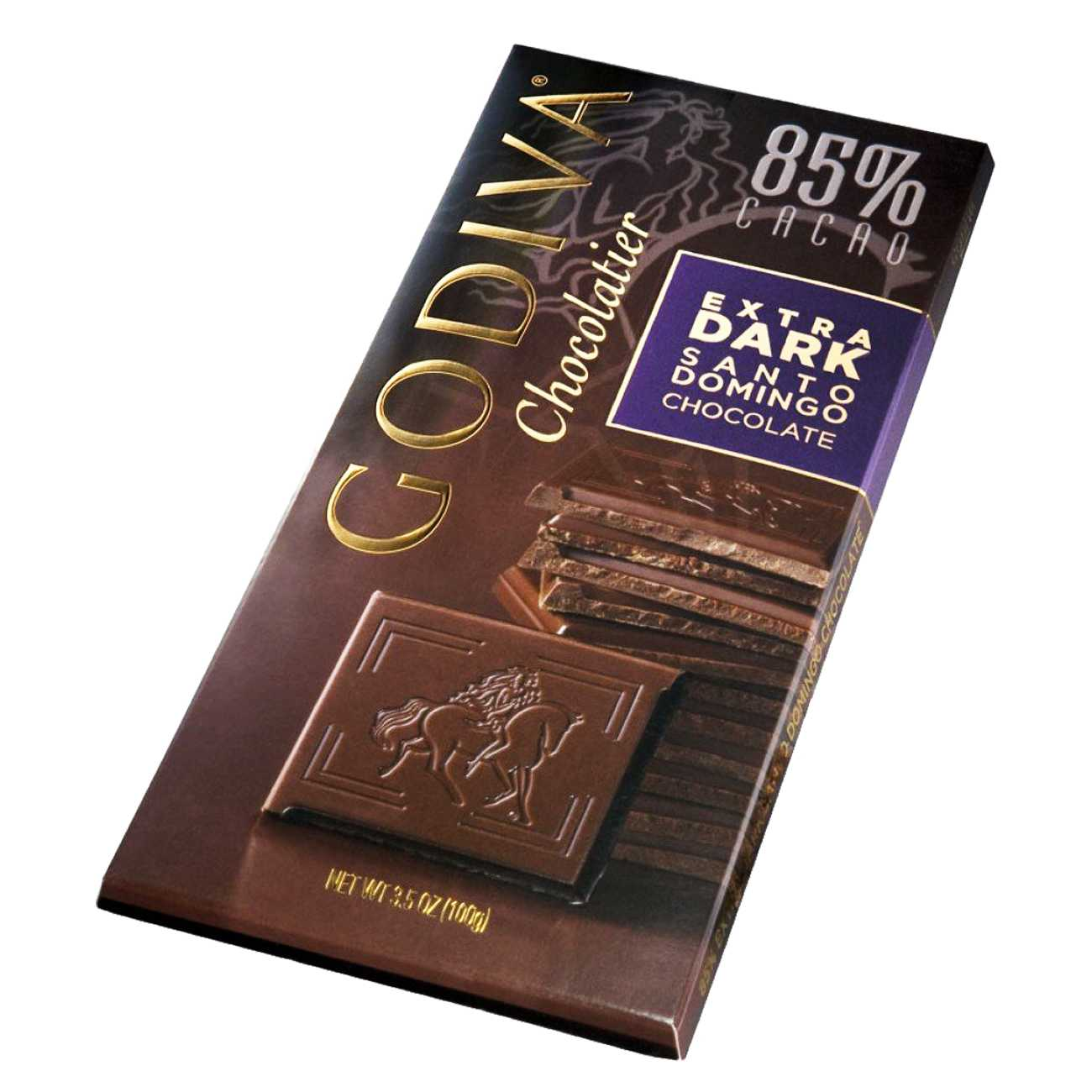EXTRA DARK SANTO DOMINGO CHOCOLATE 100 G