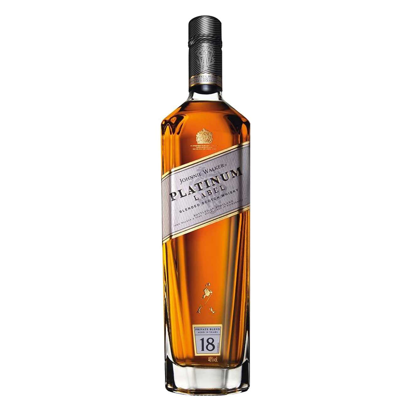 Whisky scotian, PLATINUM LABEL 18 YEARS OLD 1000 ML, Johnnie Walker