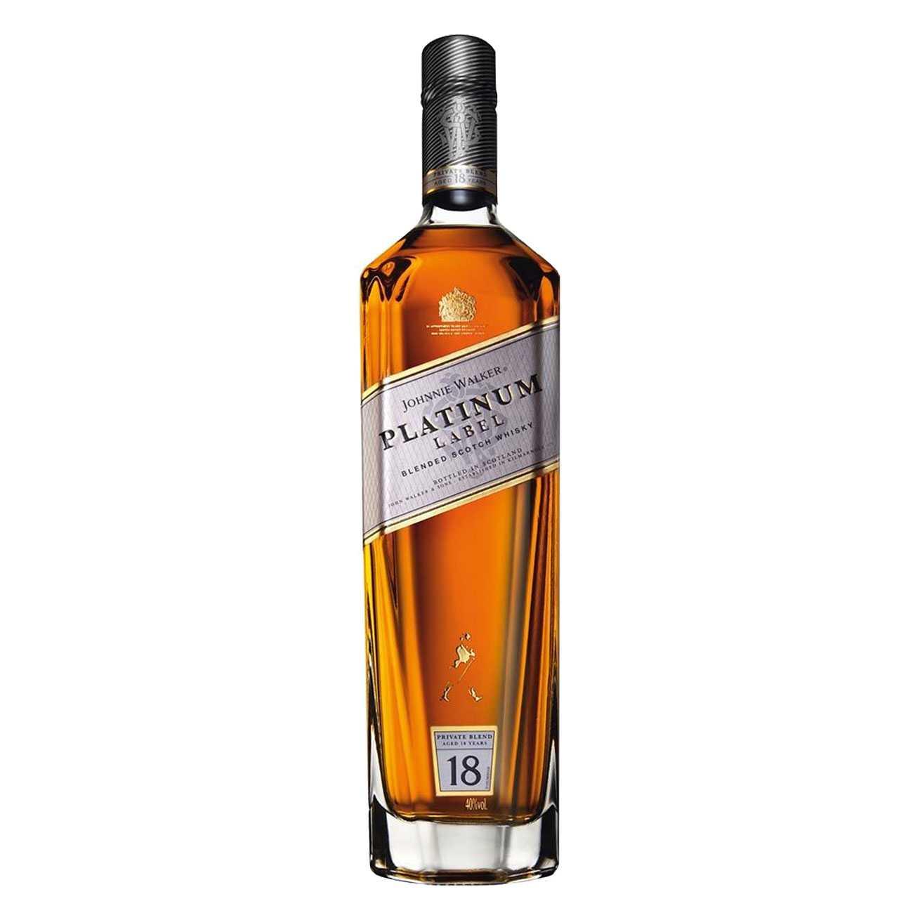 Whisky scotian, PLATINUM LABEL 18 YEARS OLD 1000 ML, Johnnie Walker