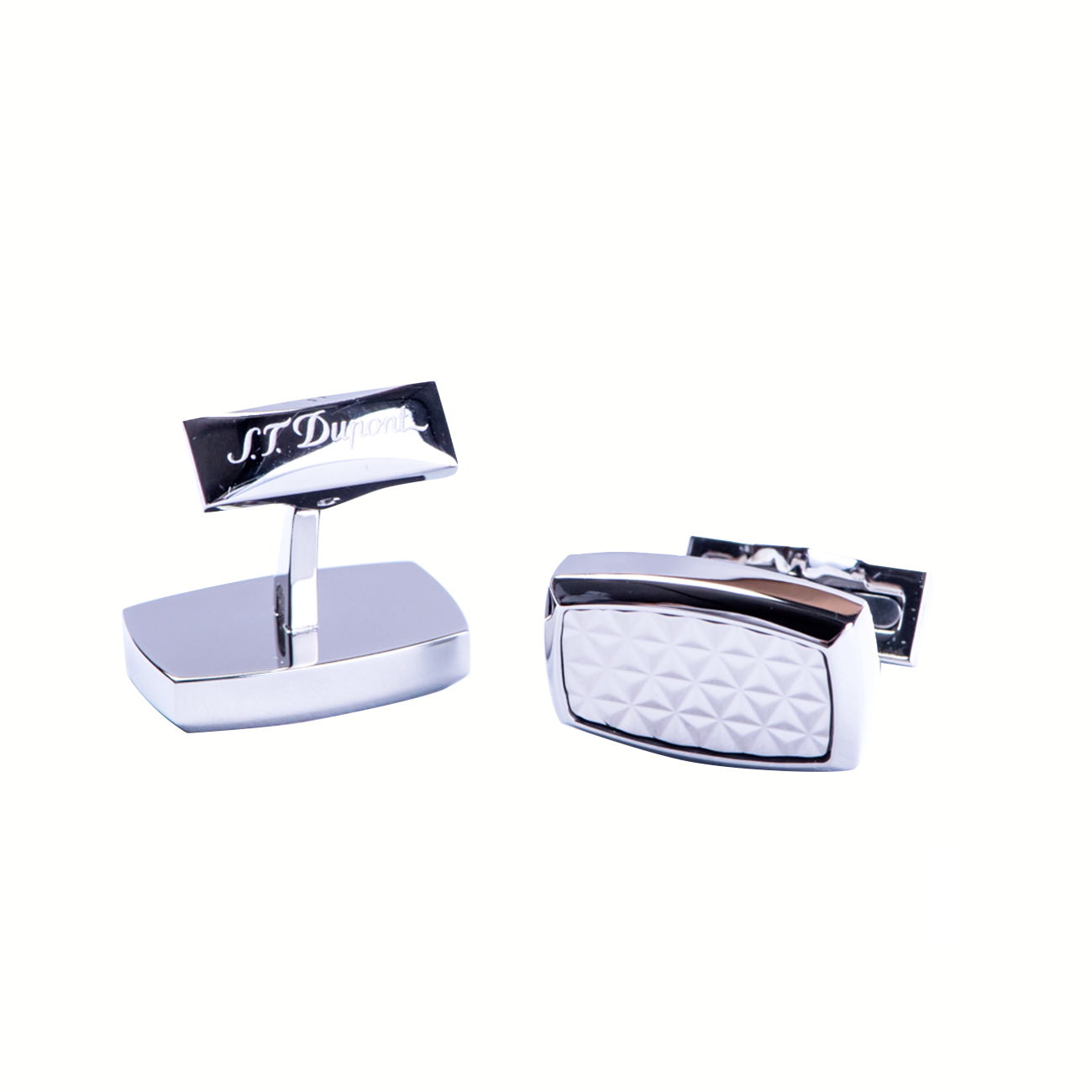 005521 PALLADIUM FINISH CUFFLINKS imagine produs