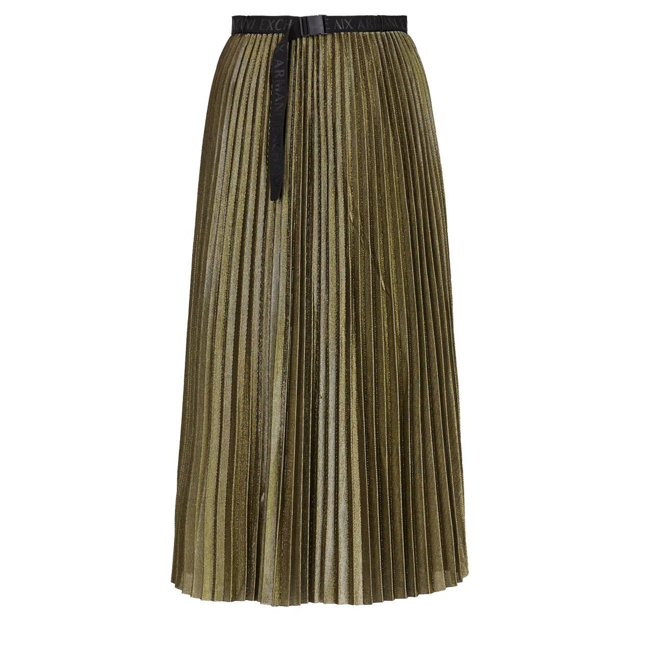 Pleated Midi Skirt 38