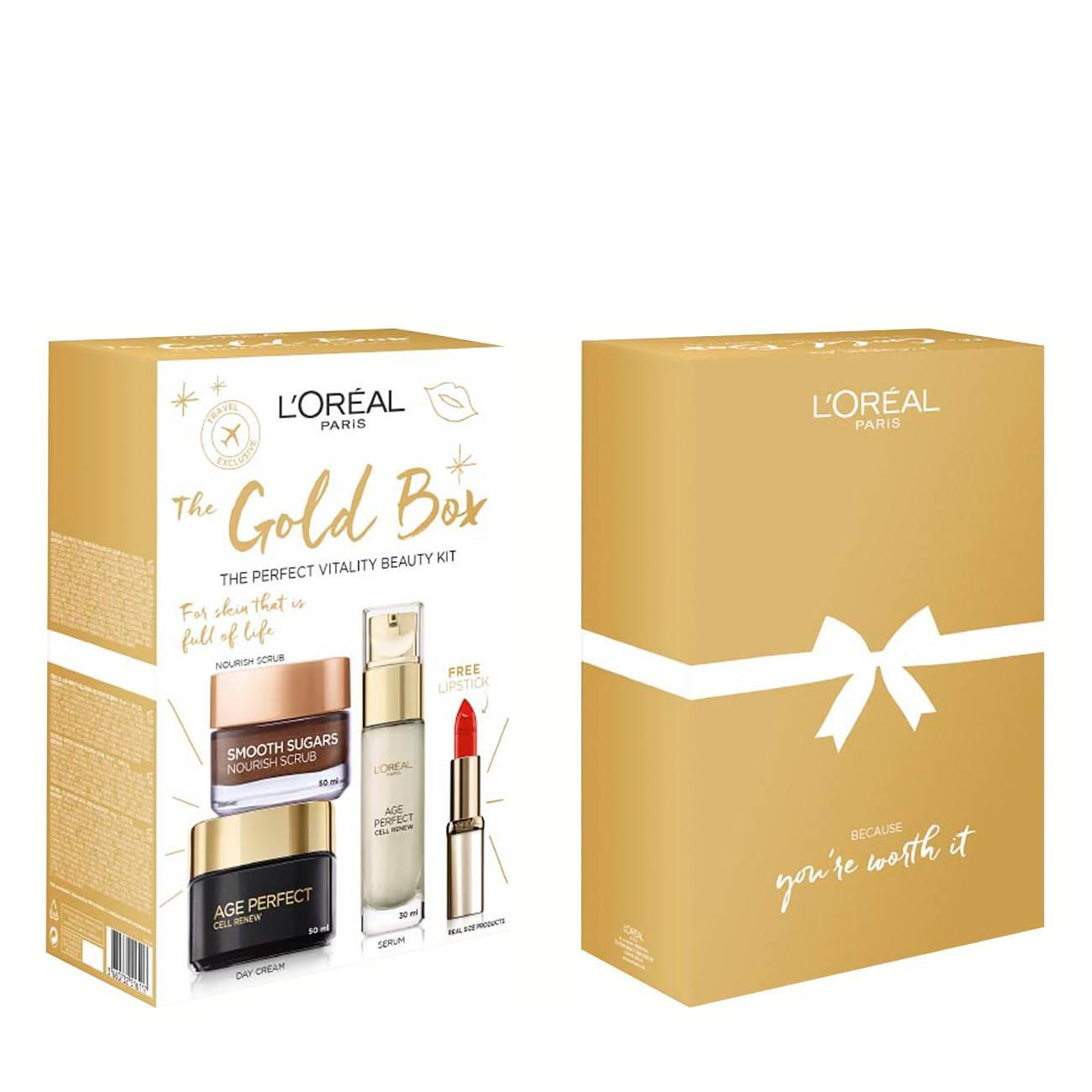Age Perfect The Gold Box Set 130ml L'Oreal imagine 2021 bestvalue.eu