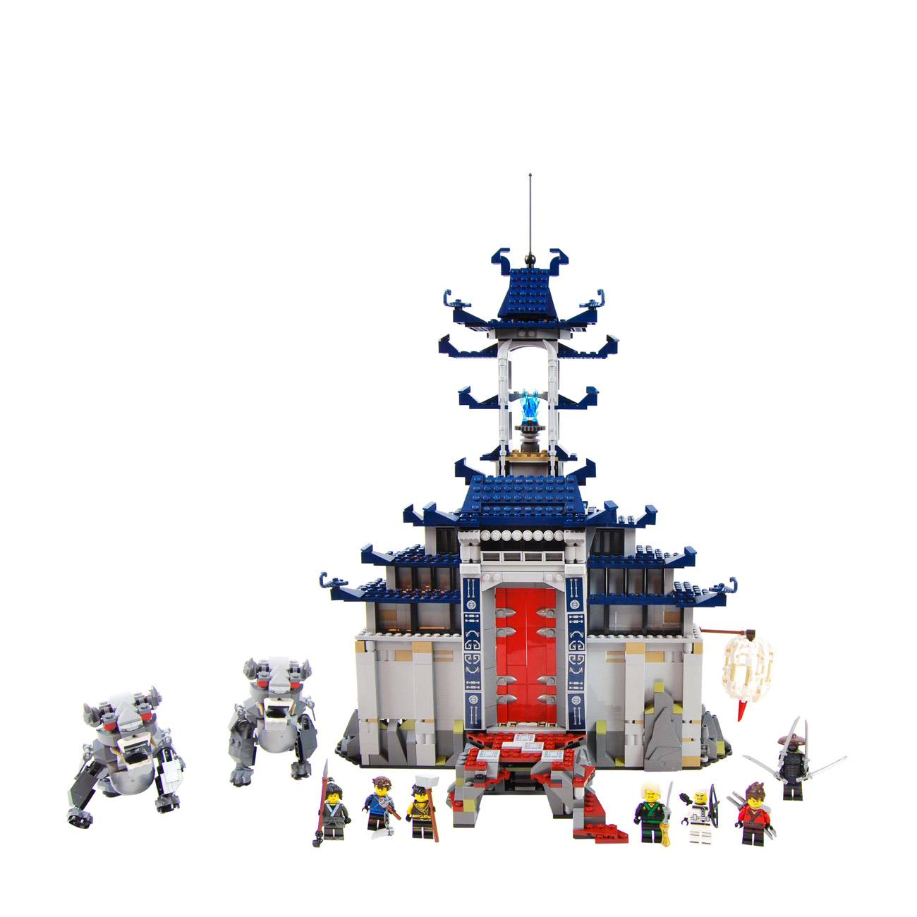 NINJAGO TEMPLE OF THE ULTIMATE WEAPON