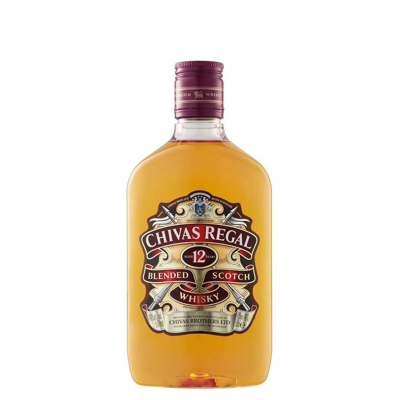 Whisky scotian, 12 YEAR OLD 500 ML, Chivas Regal