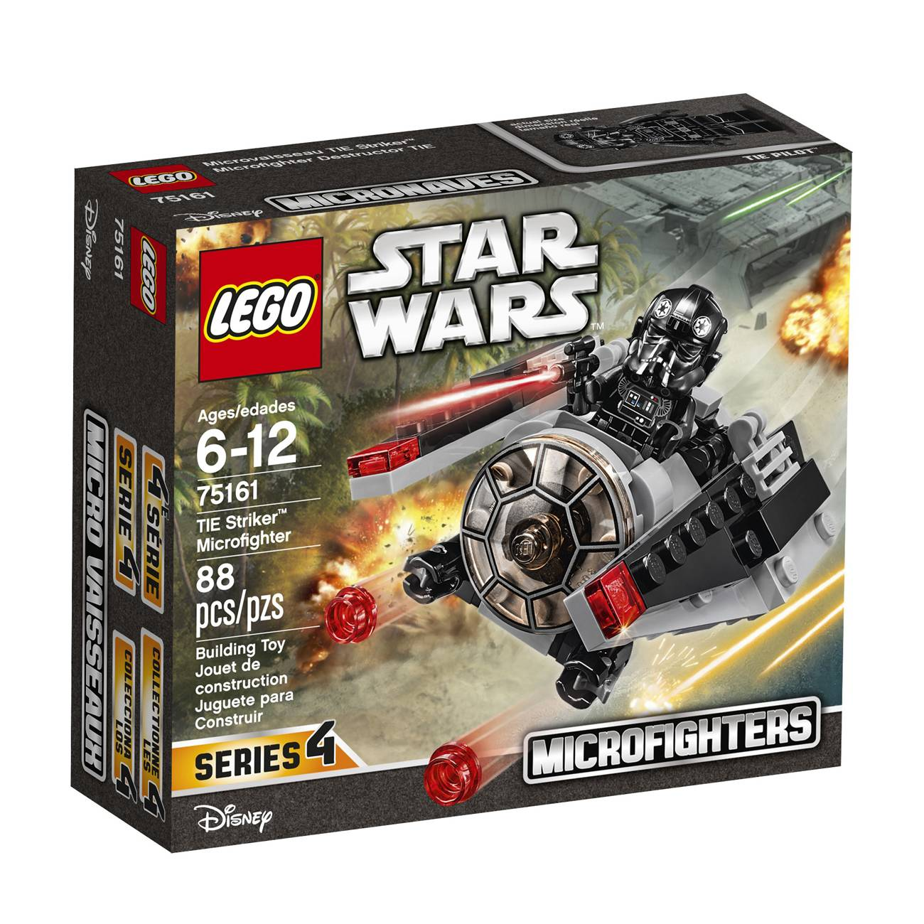 STAR WARS 75161 TIE STRIKER MICROFIGHTER