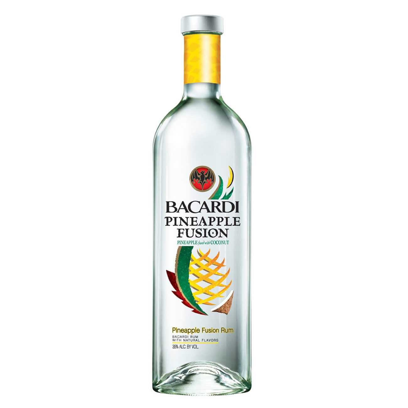 Rom, PINEAPPLE FUSION 1000 ML, Bacardi