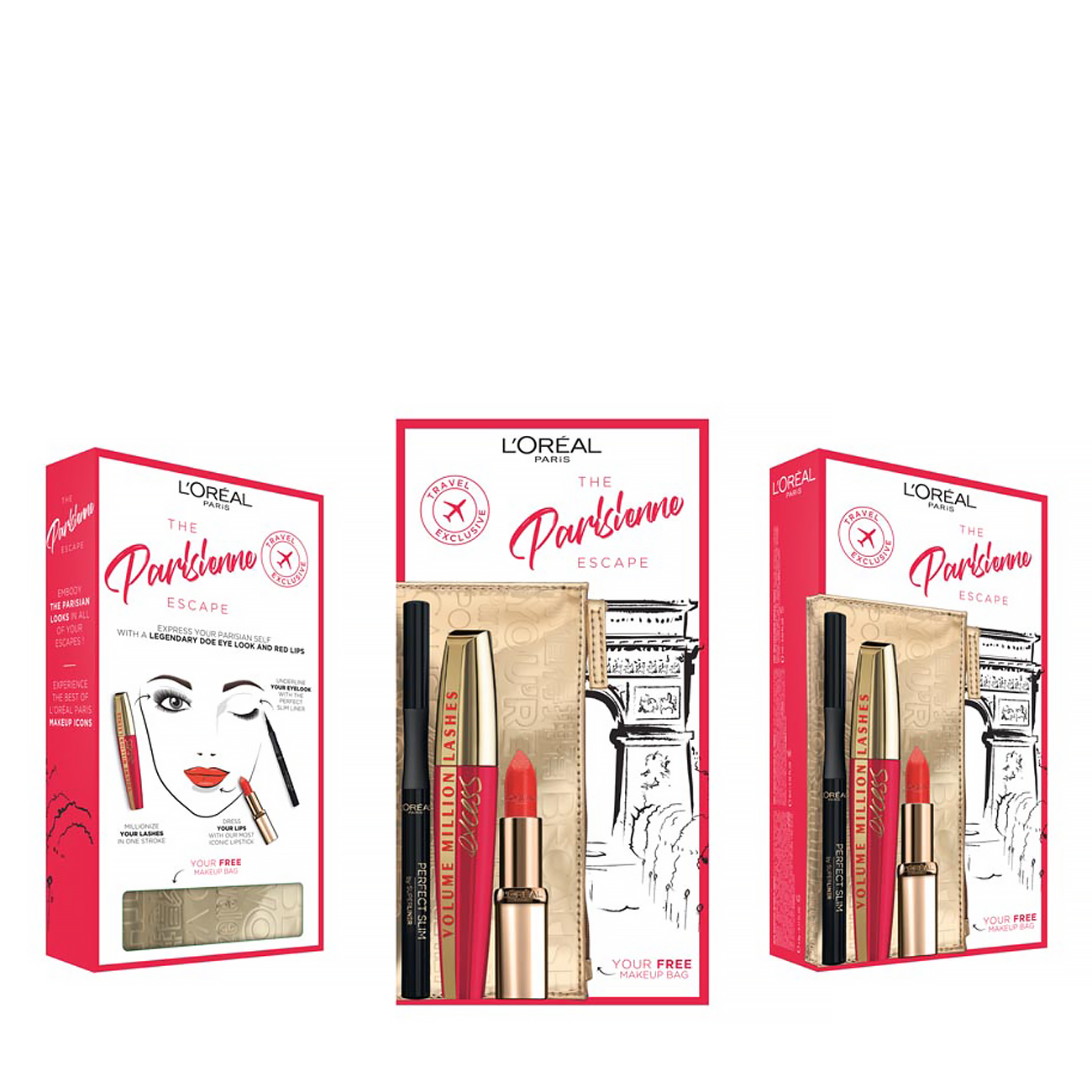 Look On The Go The Parisienne Escape Set