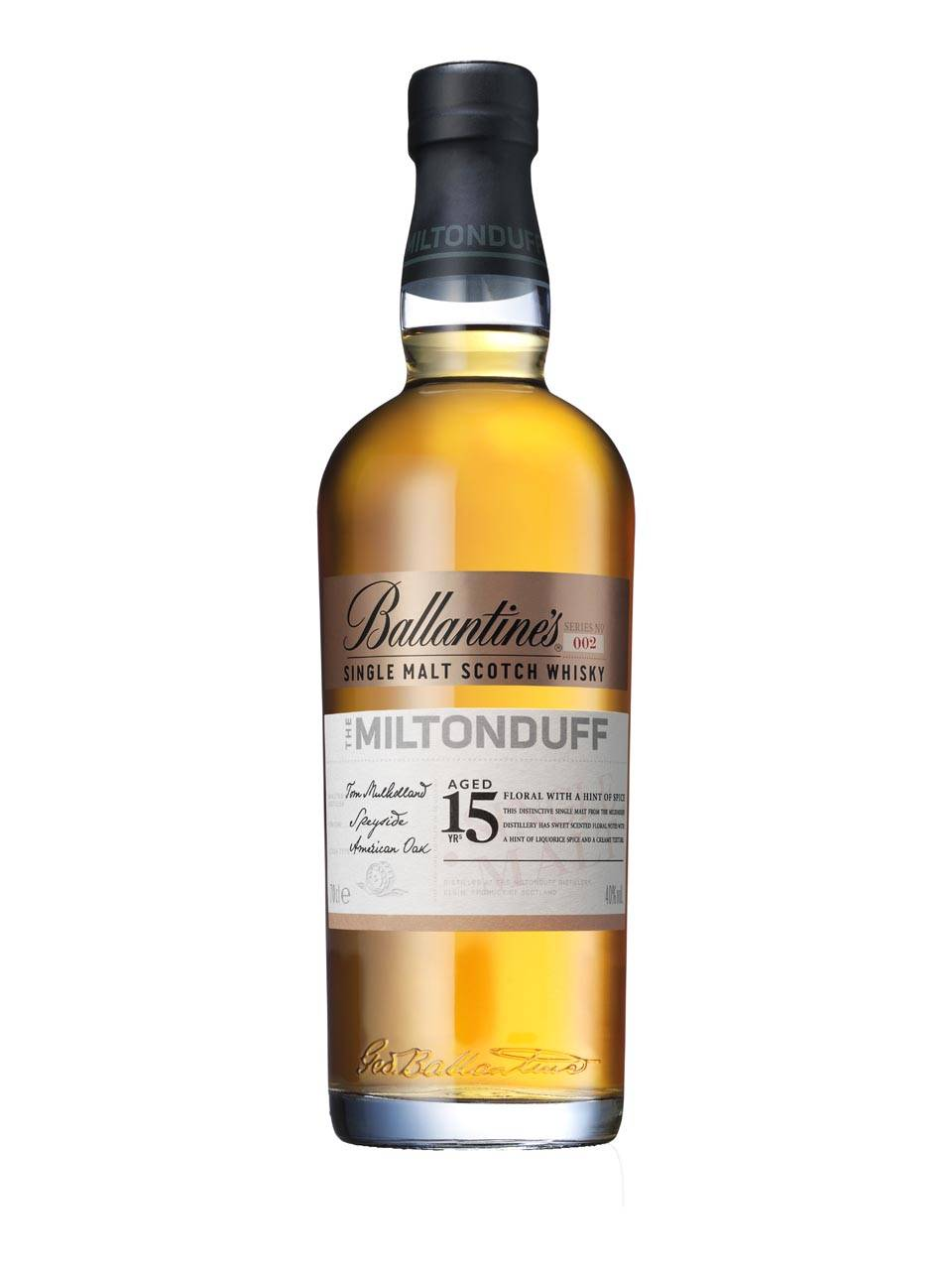 Whisky scotian, MILTONDUFF 15 YEARS OLD 700 Ml, Ballantine's