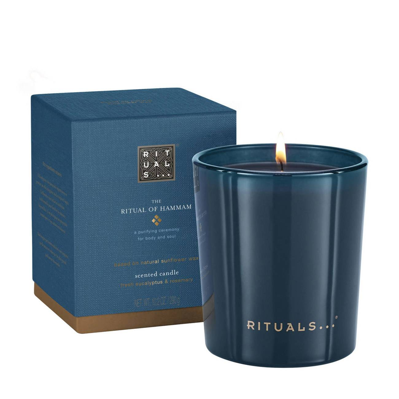 THE RITUAL OF HAMMAM SCENTED CANDLE 290 Grame imagine produs