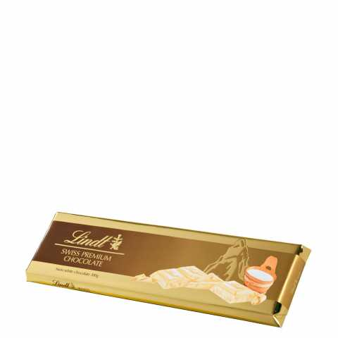 Lindt GOLD WHITE CHOCOLATE 300 G Tablete