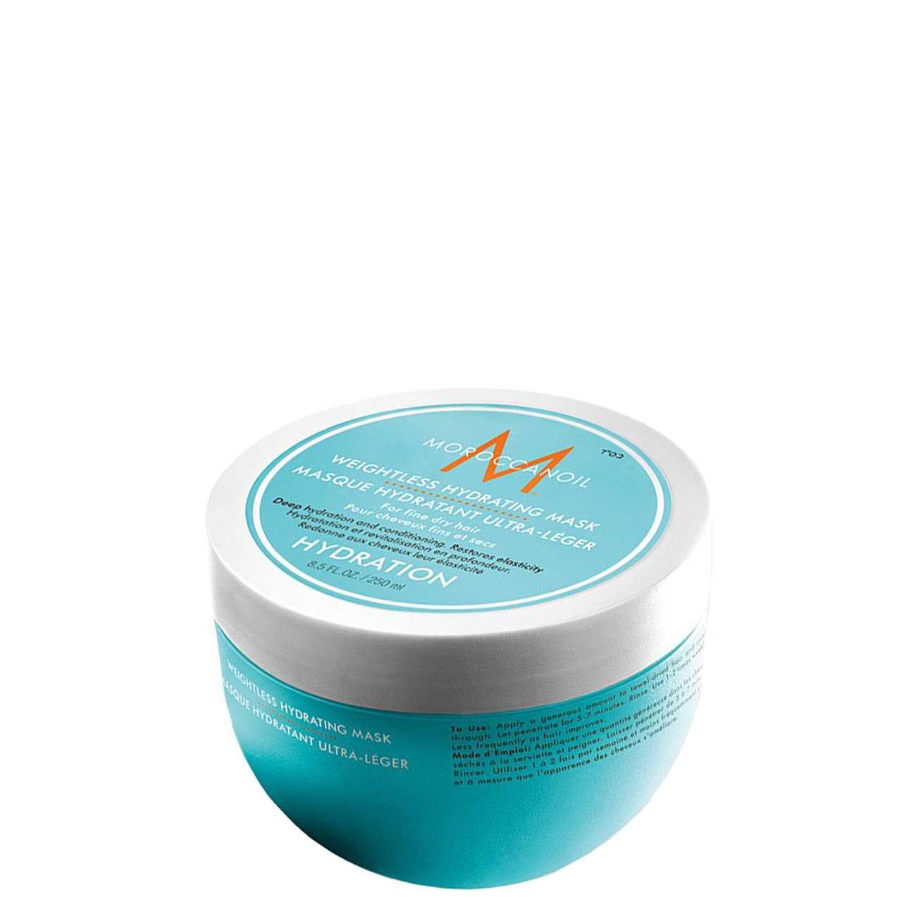 Hair Weightless Hydrating Mask 250 Ml Moroccanoil imagine 2021 bestvalue.eu