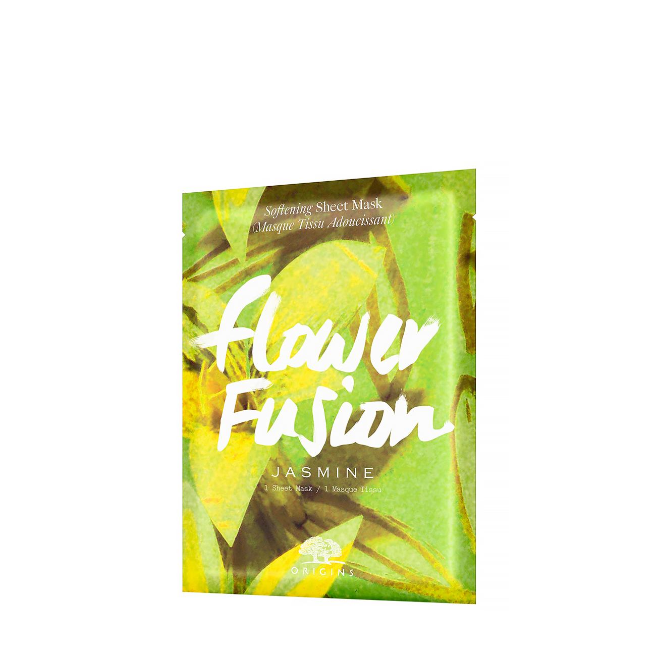 FLOWER FUSION JASMINE SHEET MASK 34gr imagine produs