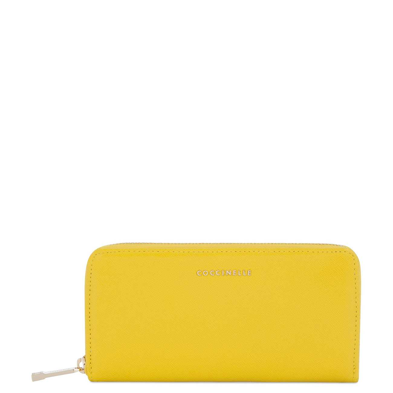 YELLOW LEATHER MATERIAL