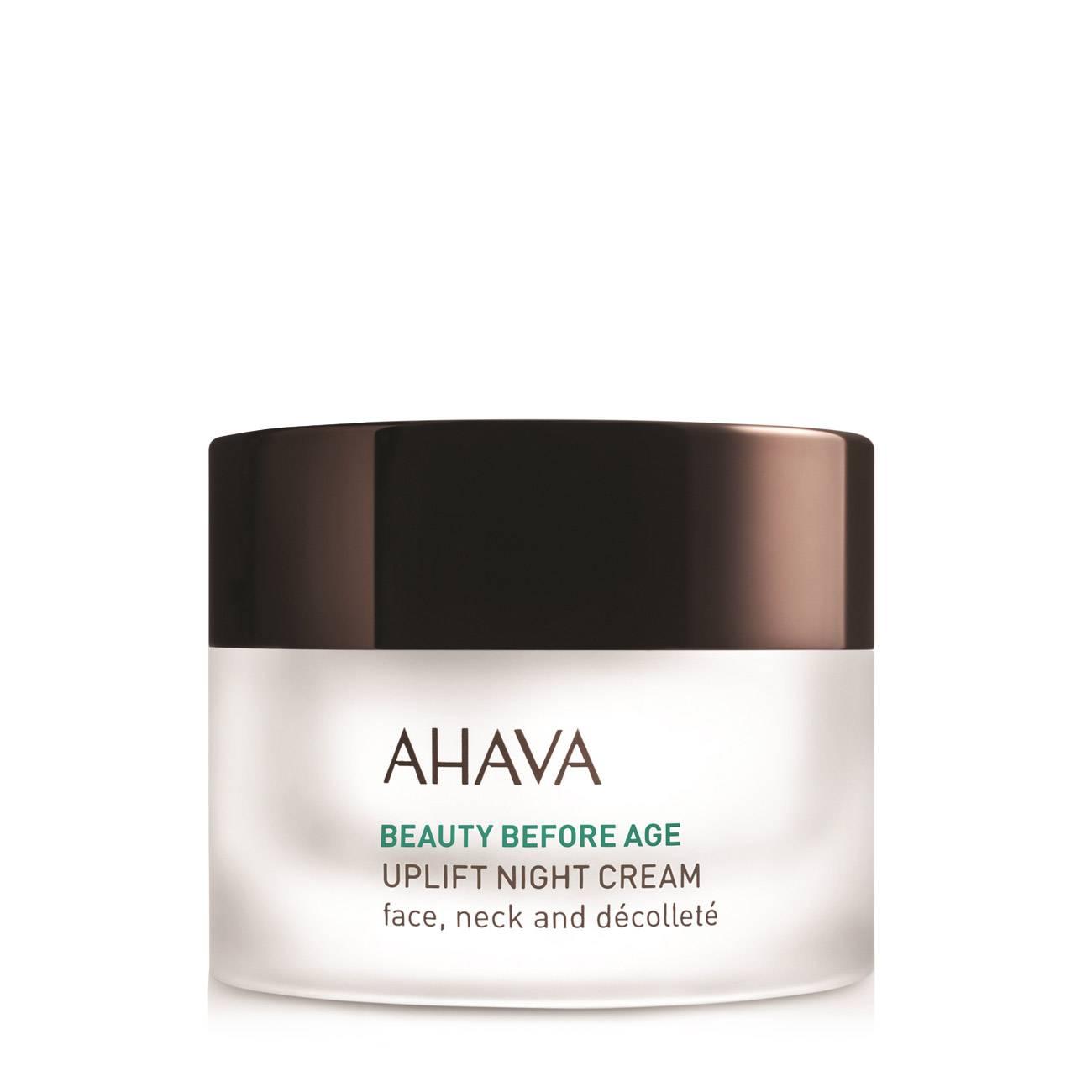 Beauty Before Age Uplift Night Cream 50 Ml Ahava imagine 2021 bestvalue.eu