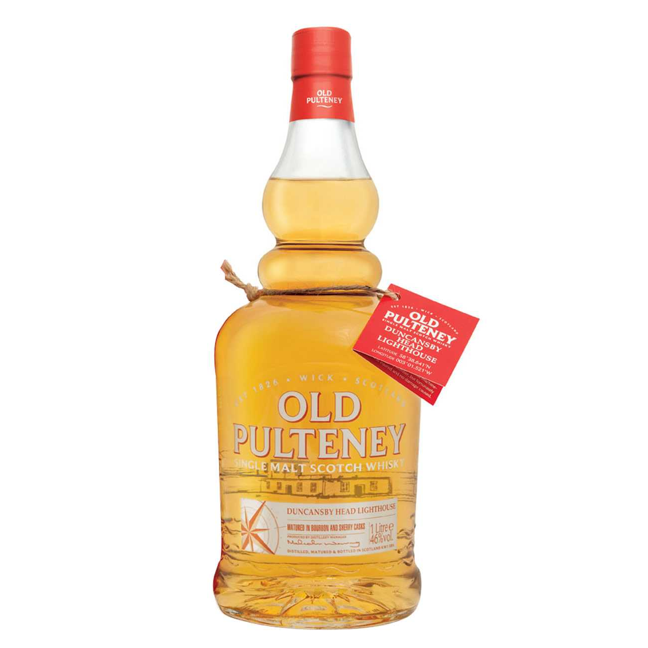 Whisky scotian, DUCANSBY LIGHTHOUSE 1000 ML, Old Pulteney