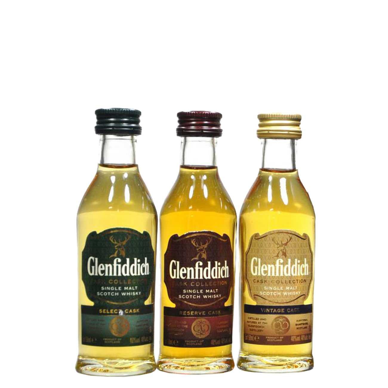 Whisky scotian, CASK COLLECTION 150 ML, Glenfiddich