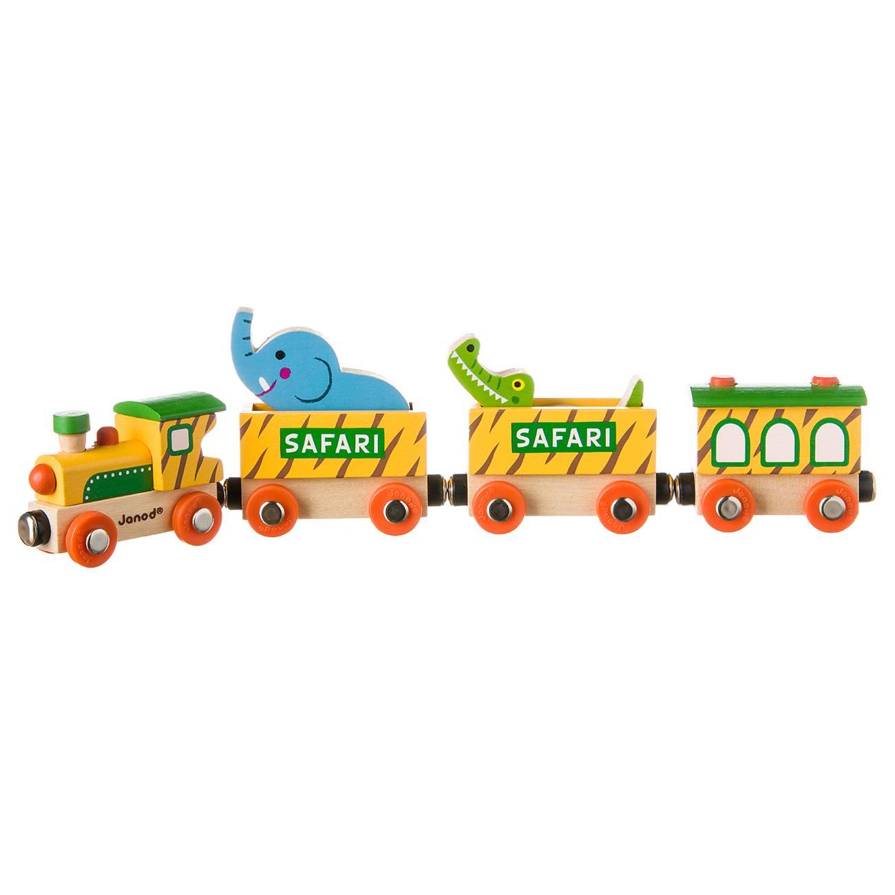 STORY-SAFARI TRAIN