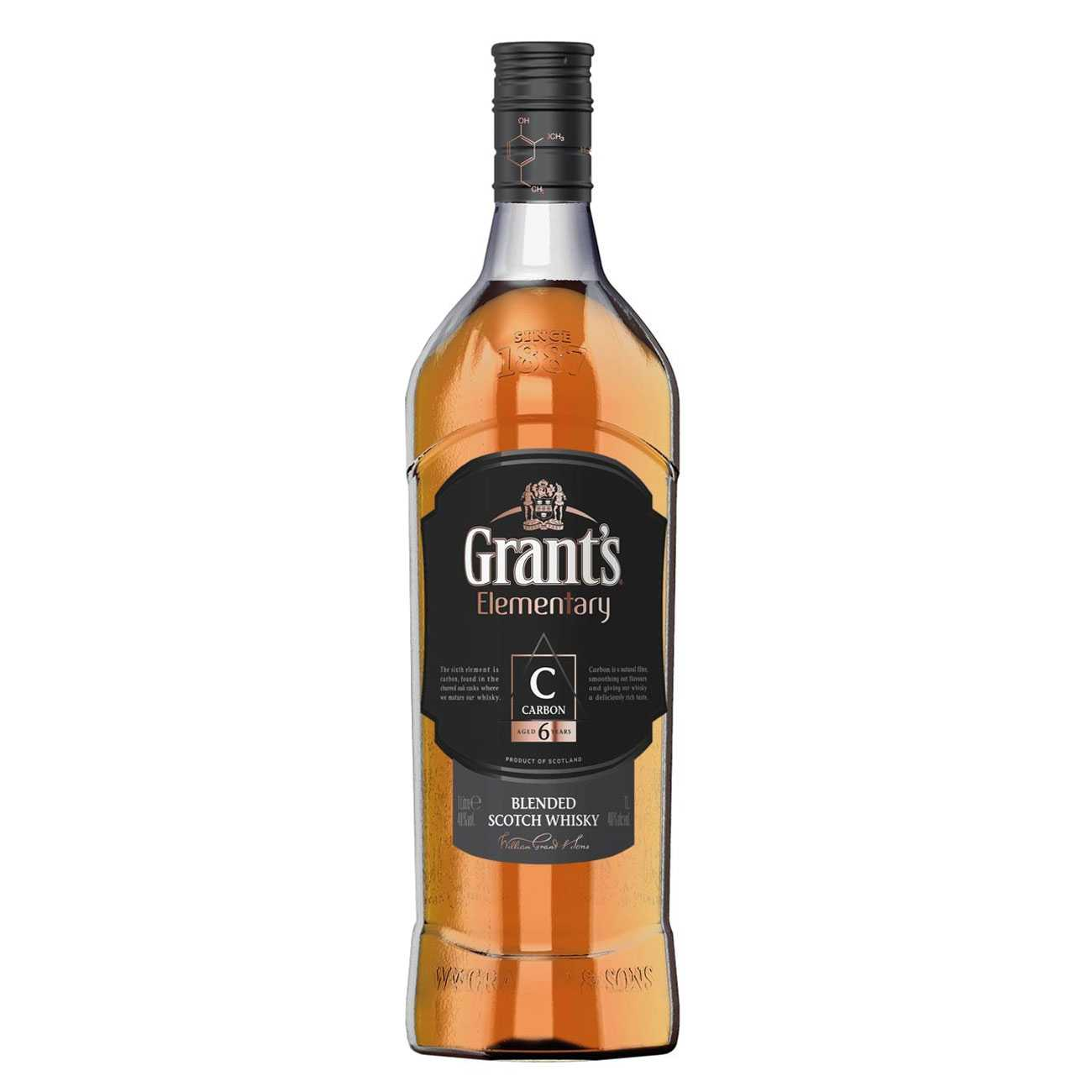 Whisky scotian, CARBON 6 YEARS 1000 ML, Grant's