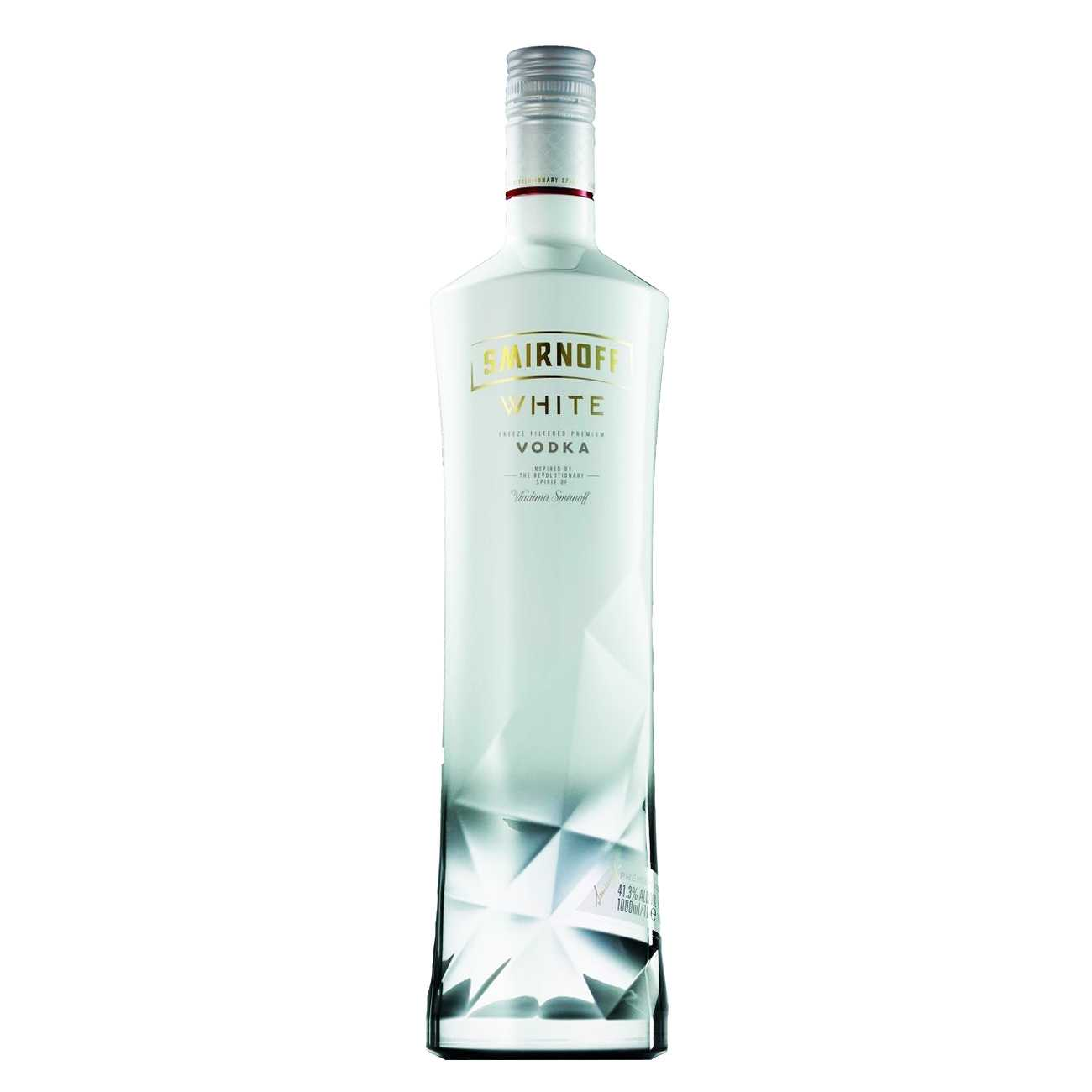Vodka, WHITE 1000 ML, Smirnoff