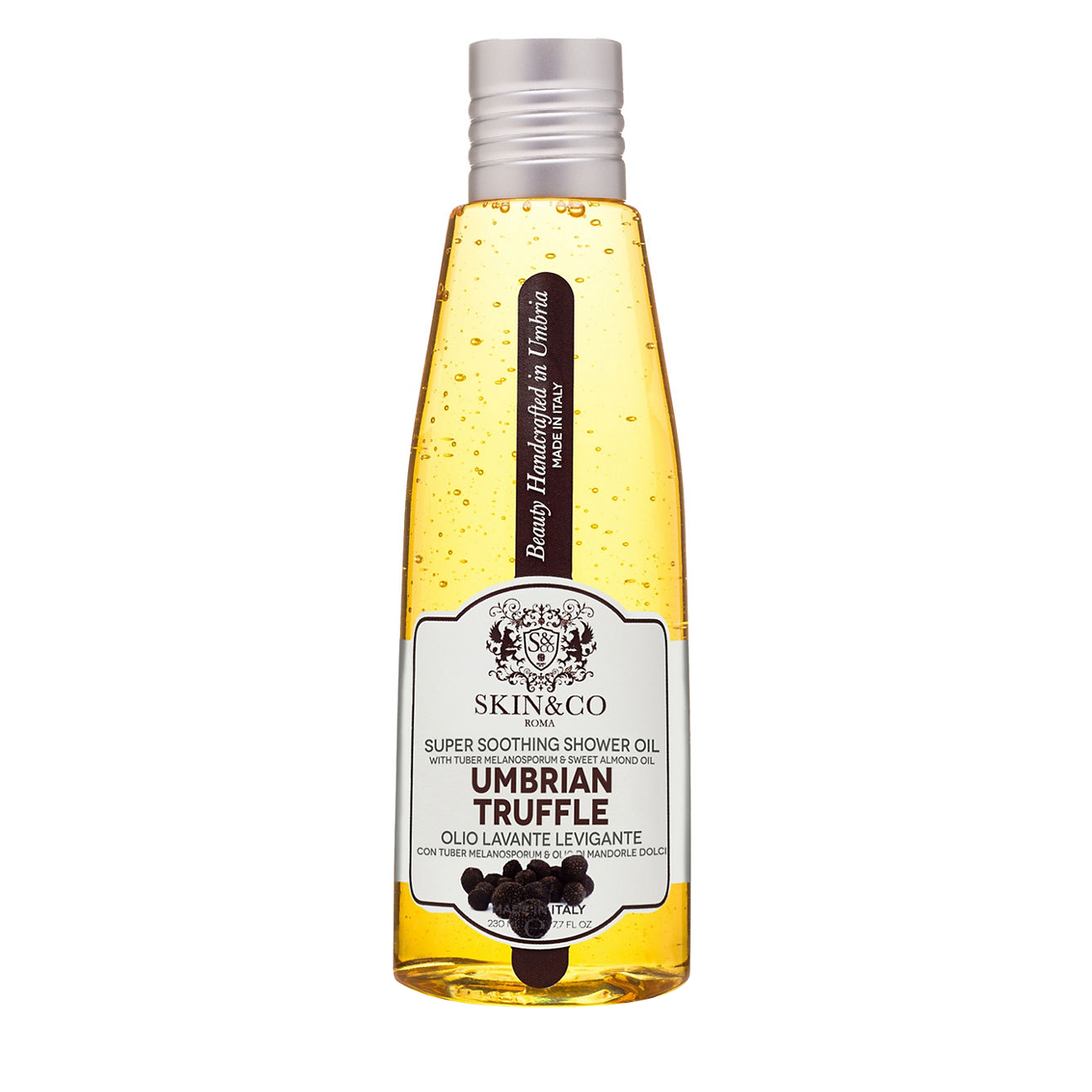 Umbrian Truffle Super Soothing Shower Oil 230ml Skin&Co Roma imagine 2021 bestvalue.eu