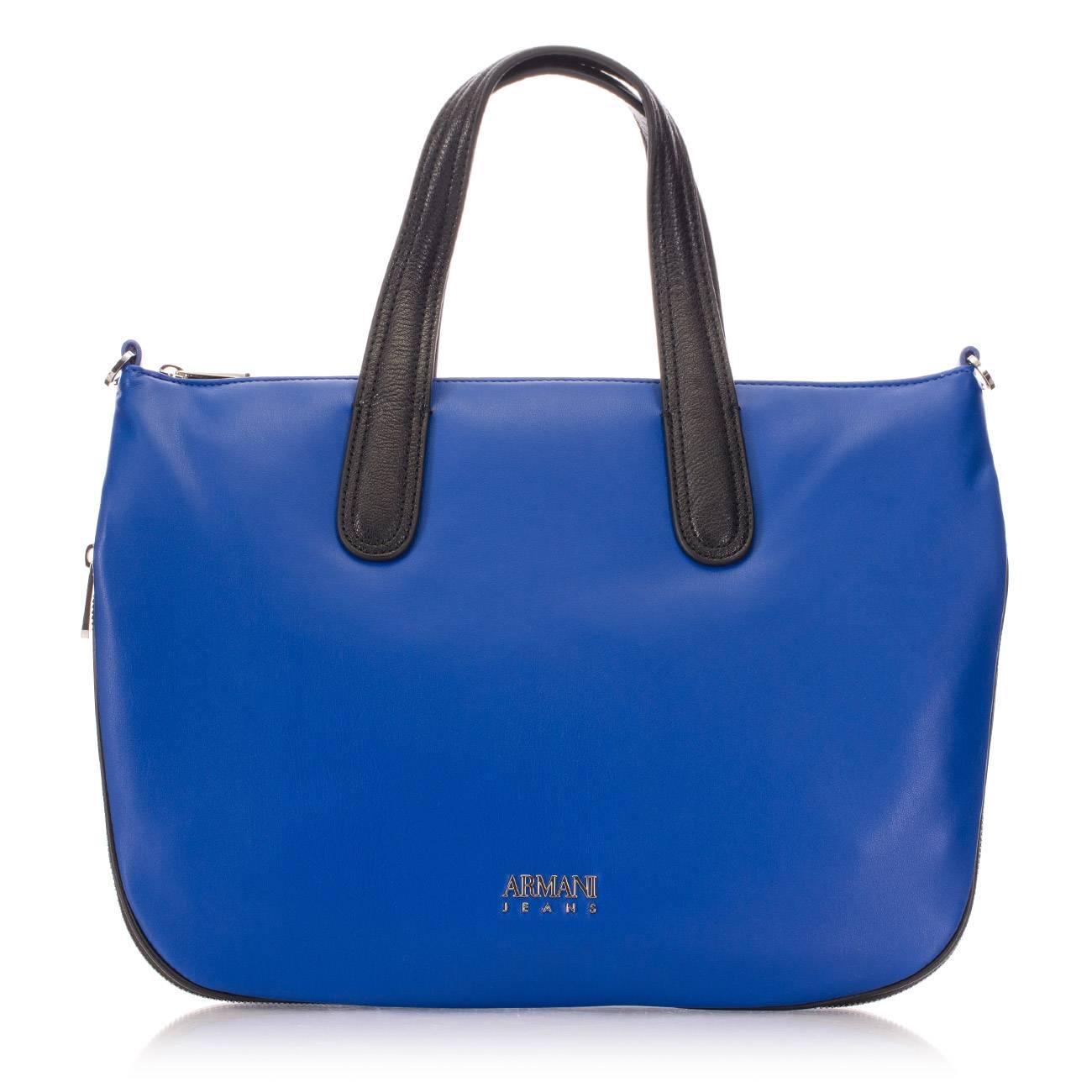 ROYAL BLUE SHOPPER BAG