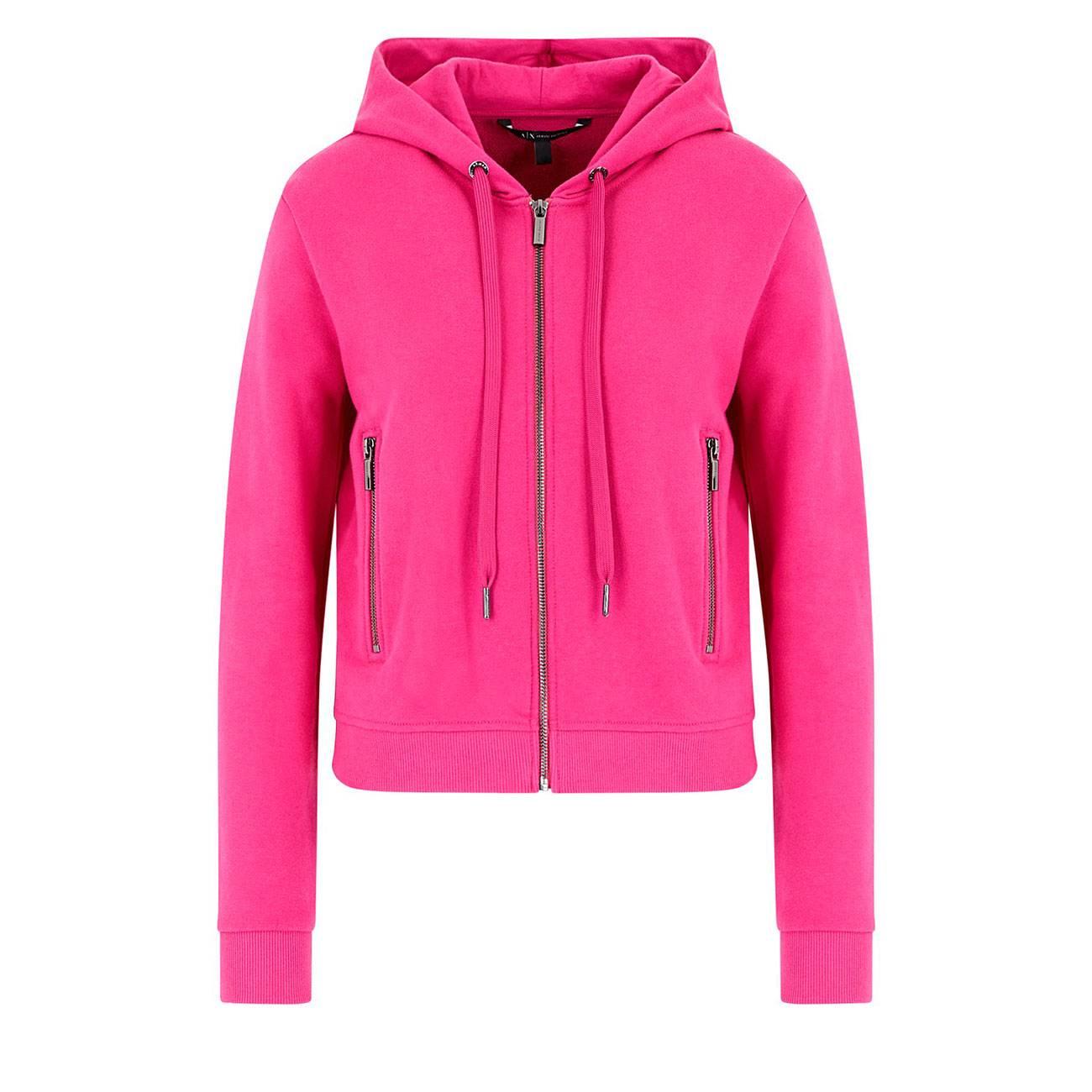 Hooded Cardigan Sweatshirt Xs