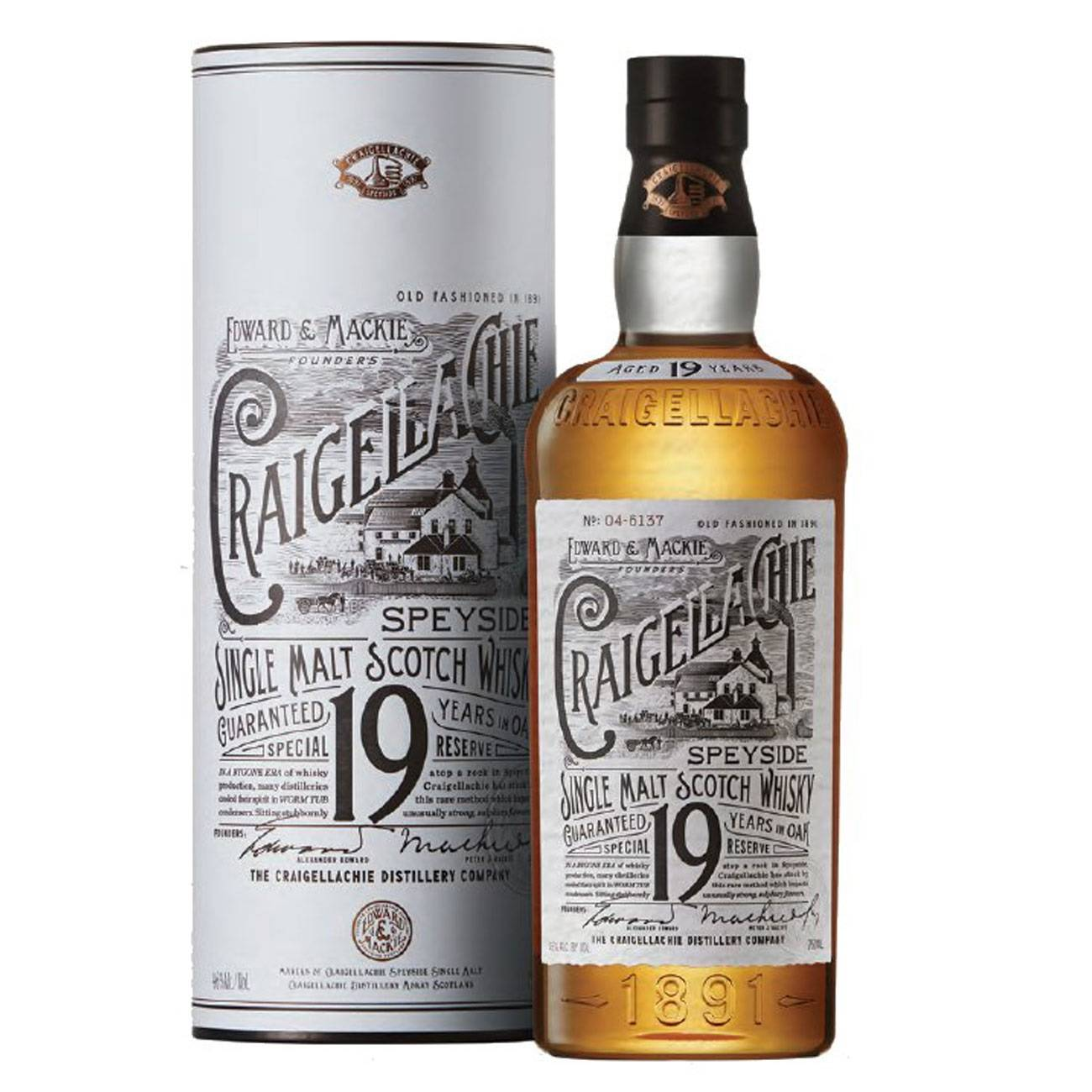19 Y Single Malt 1000 Ml de la Craigellachie