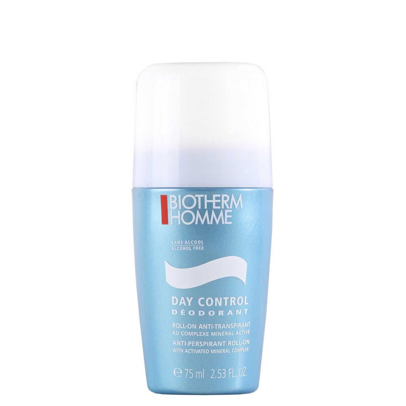 Day Control Deodorant Roll-On 75 Ml Biotherm imagine 2021 bestvalue.eu