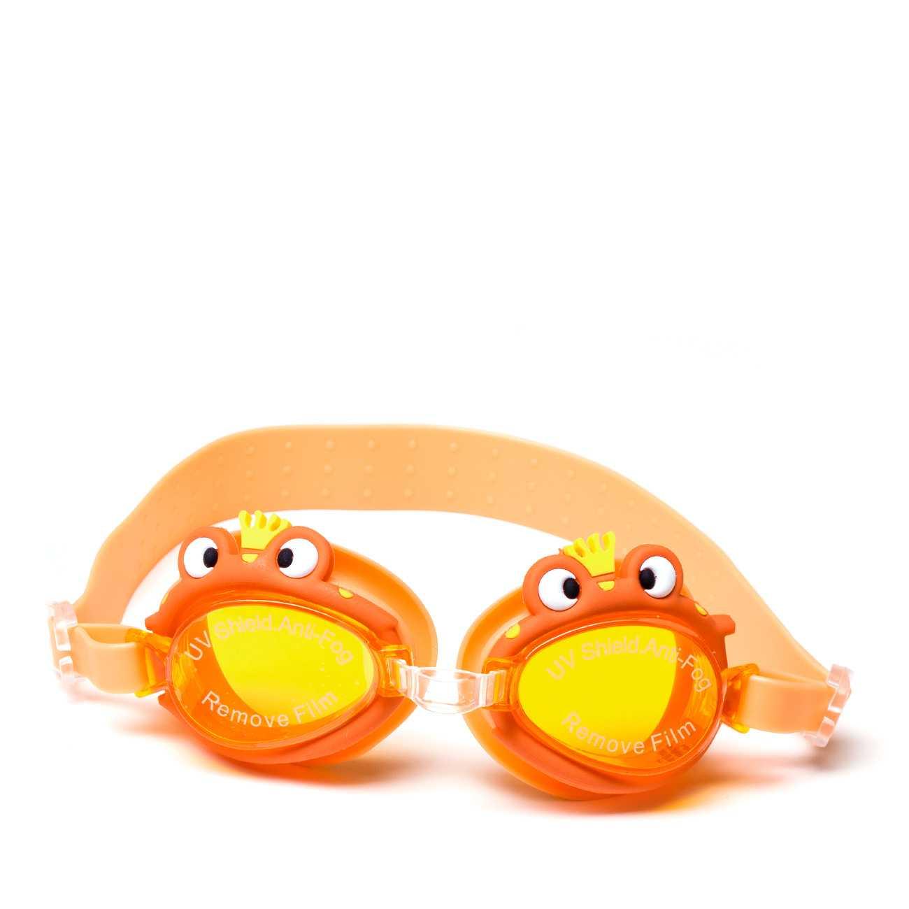 Swimming Goggles Orange imagine