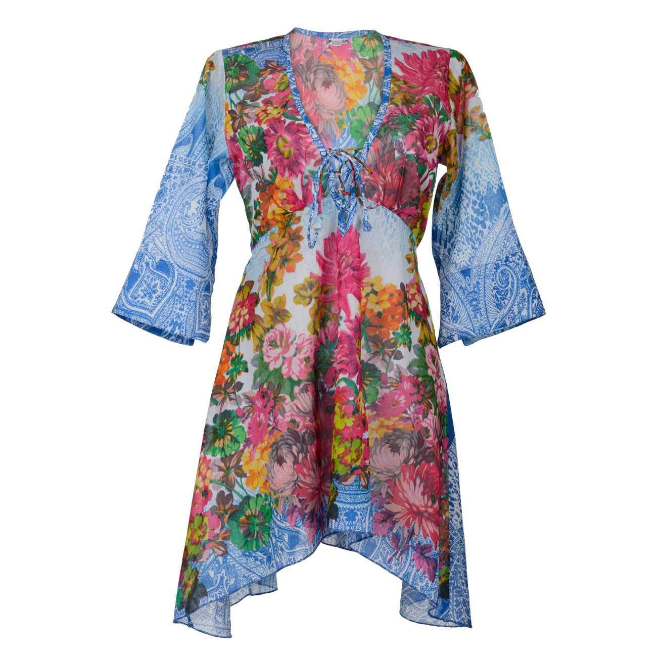Beach Dress Anais Blue S/M imagine